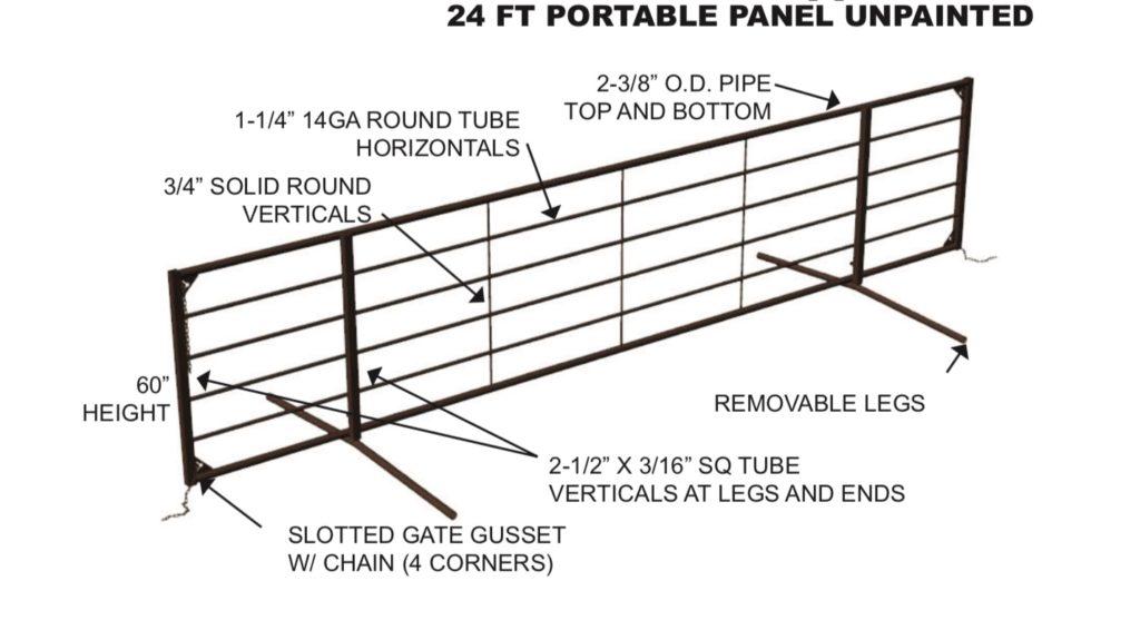 portable panel