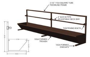 fence line bunks